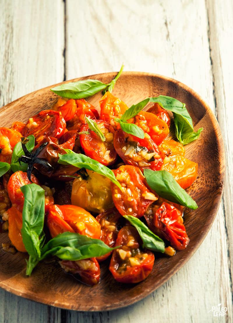 Garlic-Roasted Cherry Tomatoes