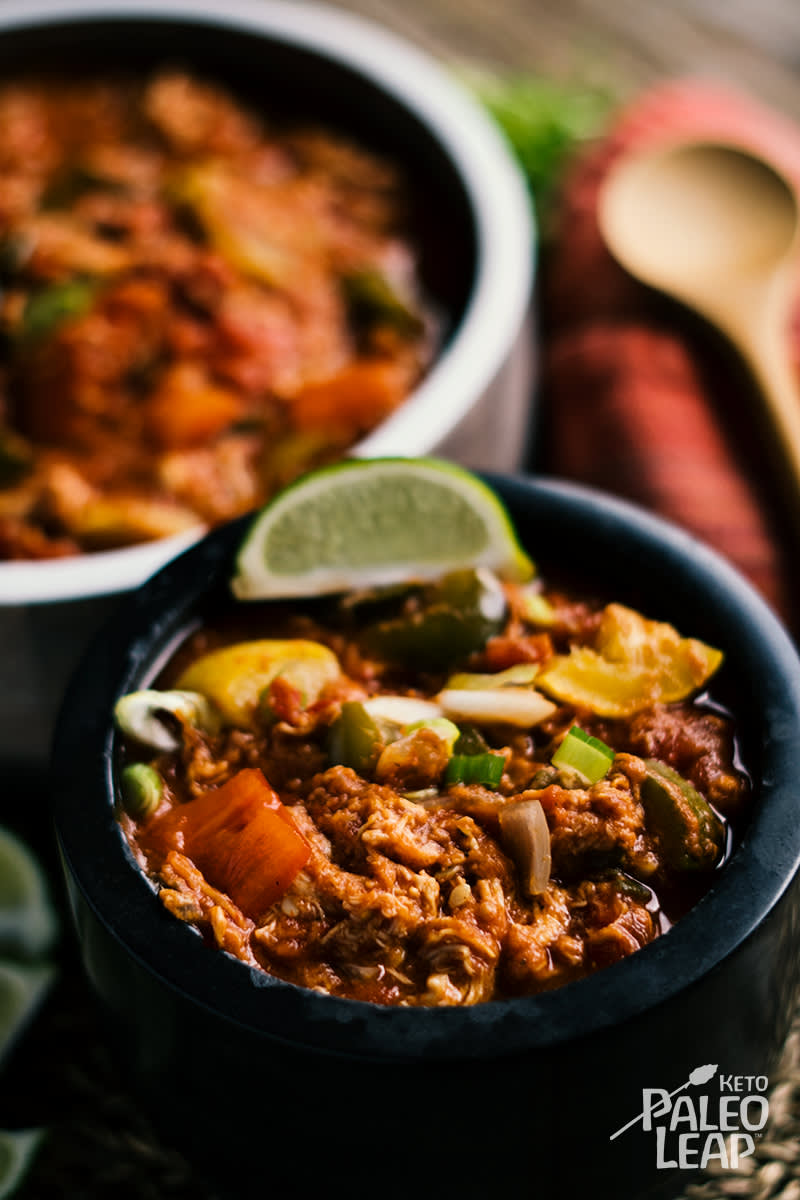 Keto Slow-Cooker Mexican Chicken