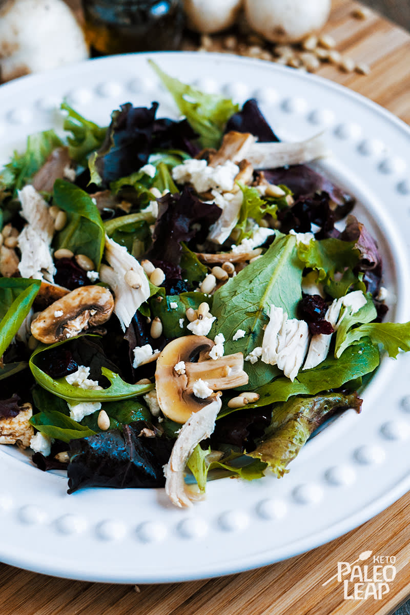 Turkey And Mushroom Salad
