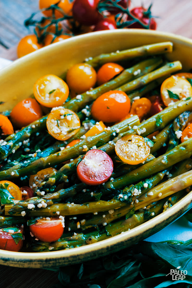 Asparagus And Tomato With Gremolata