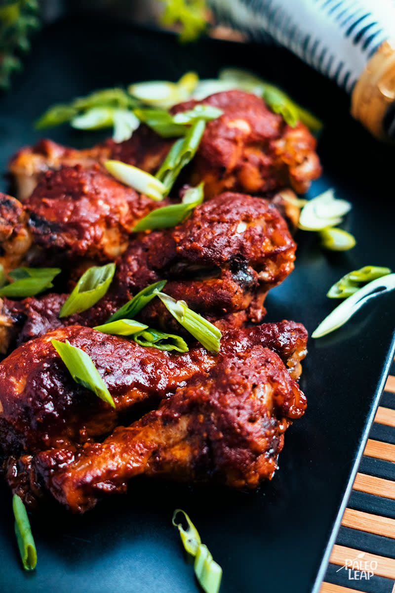 Slow Cooker BBQ Chicken Drumsticks
