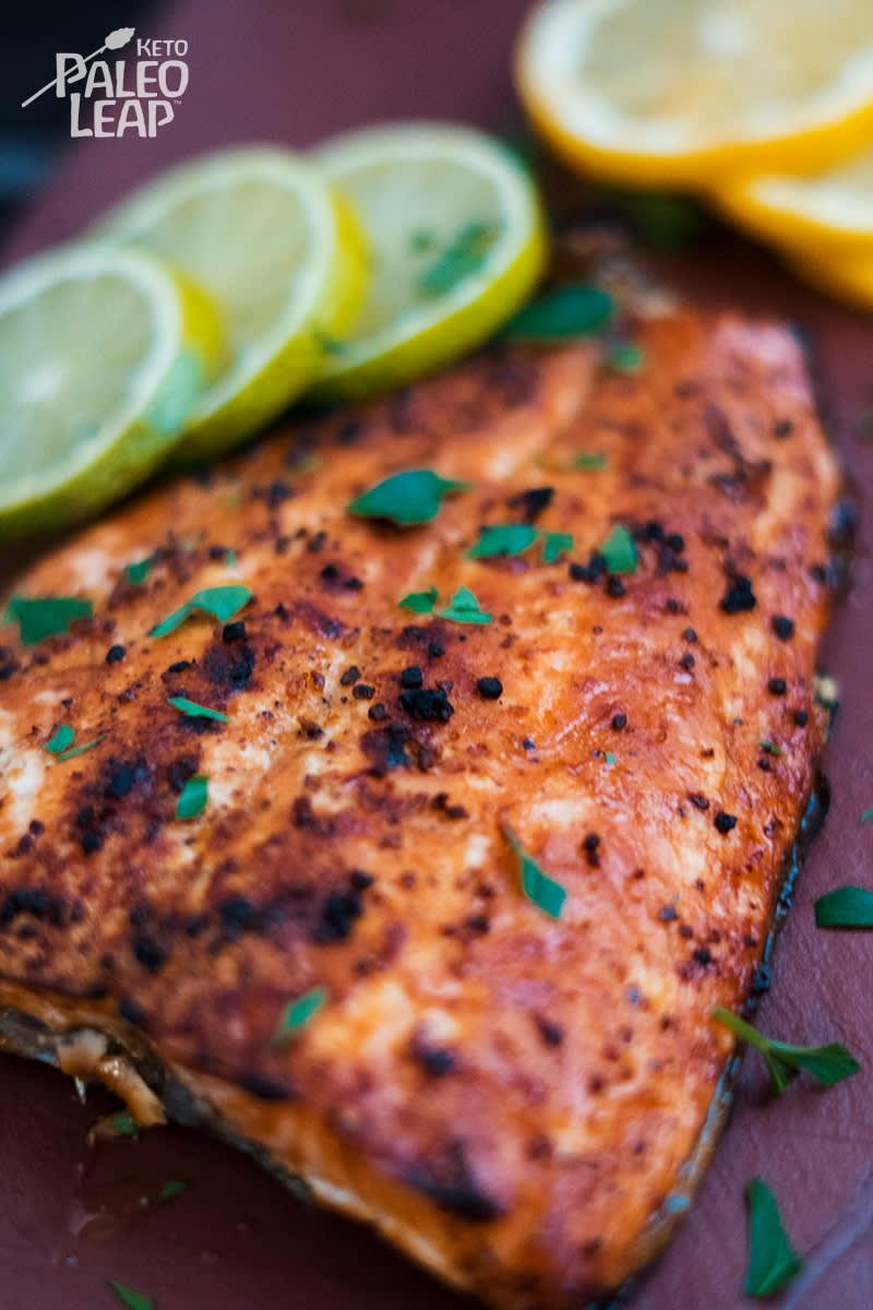 Keto Cilantro-Lime Salmon