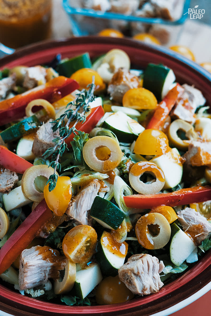 Mexican-Style Tuna Salad