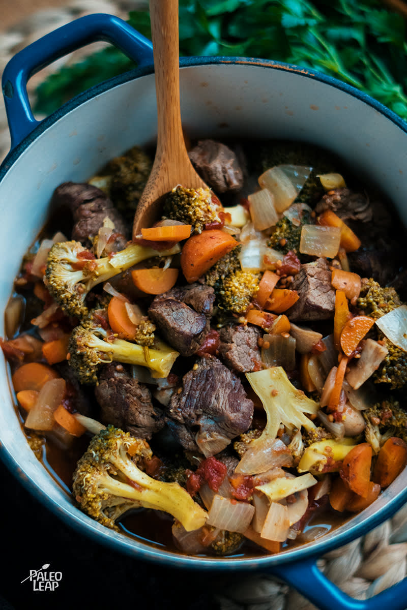 Simple Lamb Stew Paleo Leap