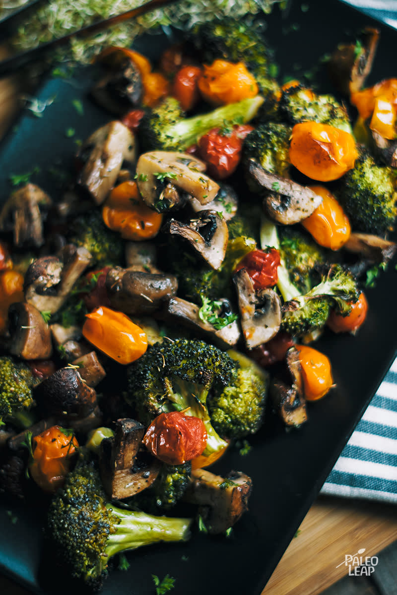 Roasted Vegetables With Italian Herbs