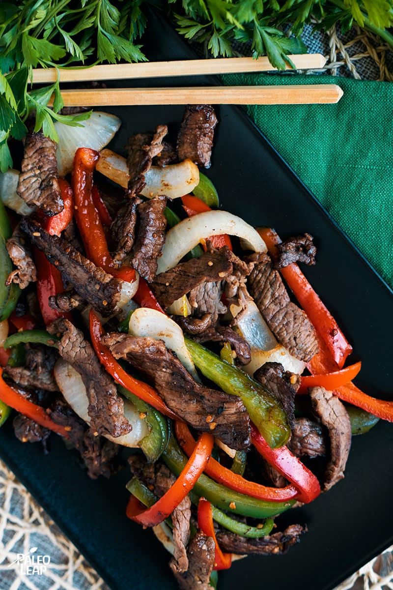 Steak And Pepper Skillet