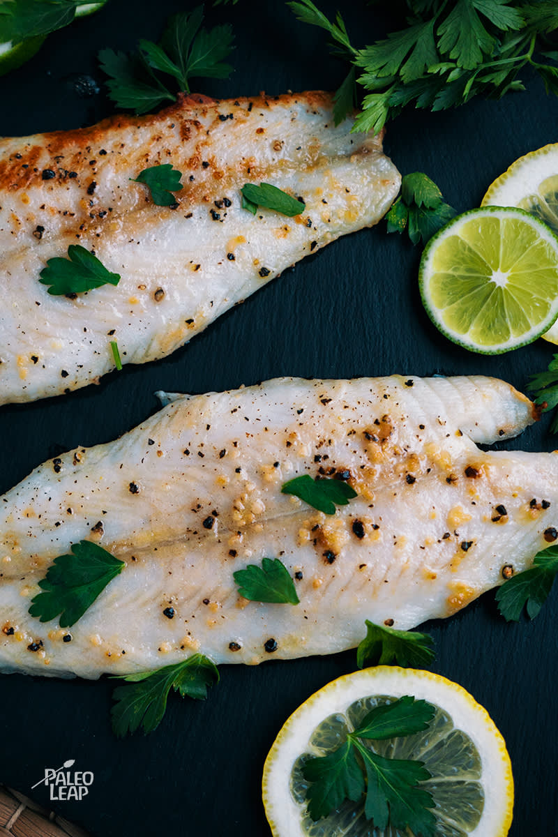 Lemon And Garlic Tilapia