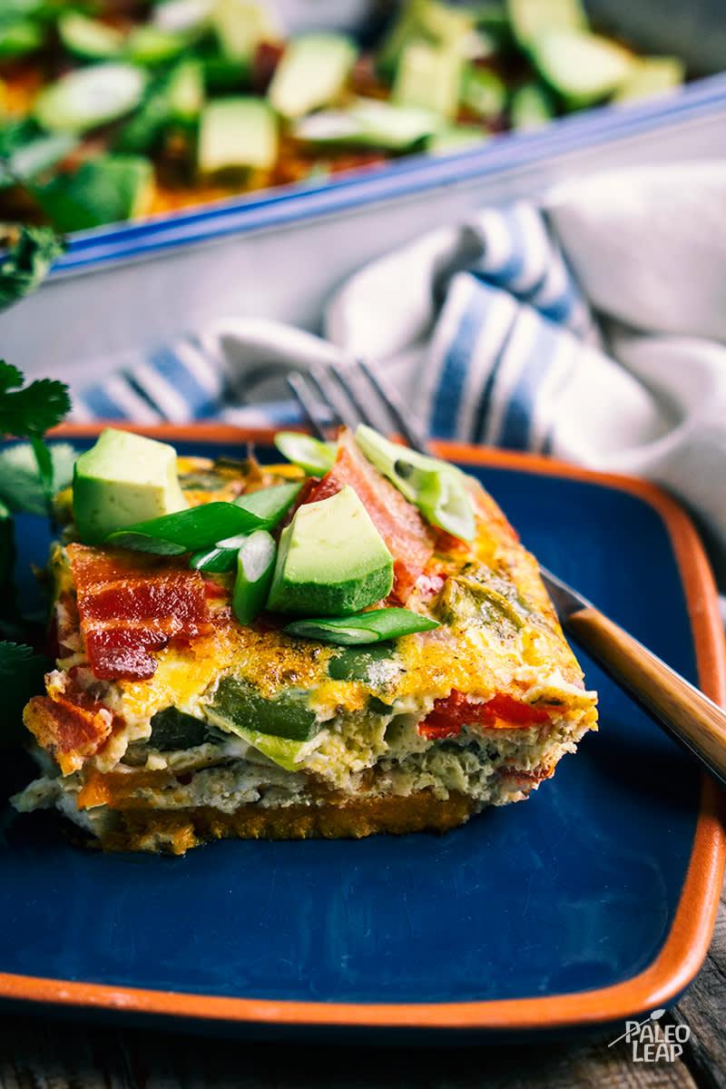 Mexican-Style Breakfast Lasagna