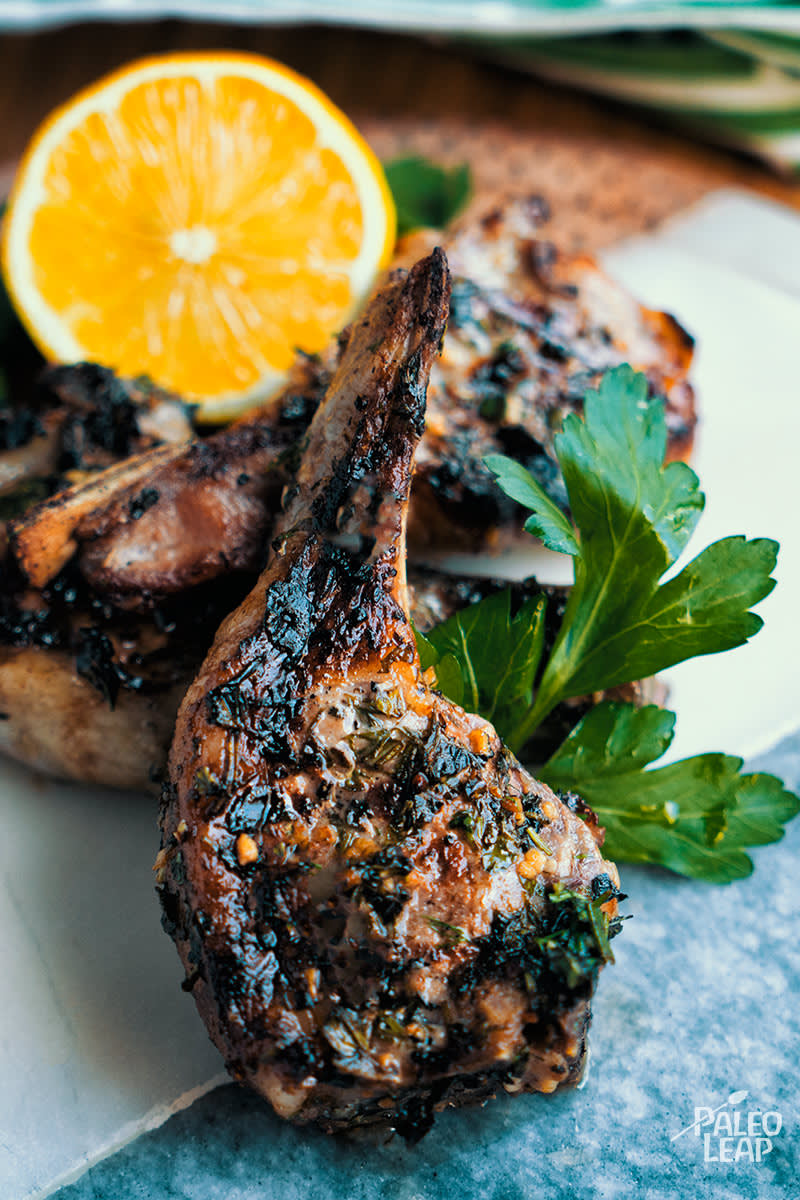 Garlic And Herb Lamb Chops