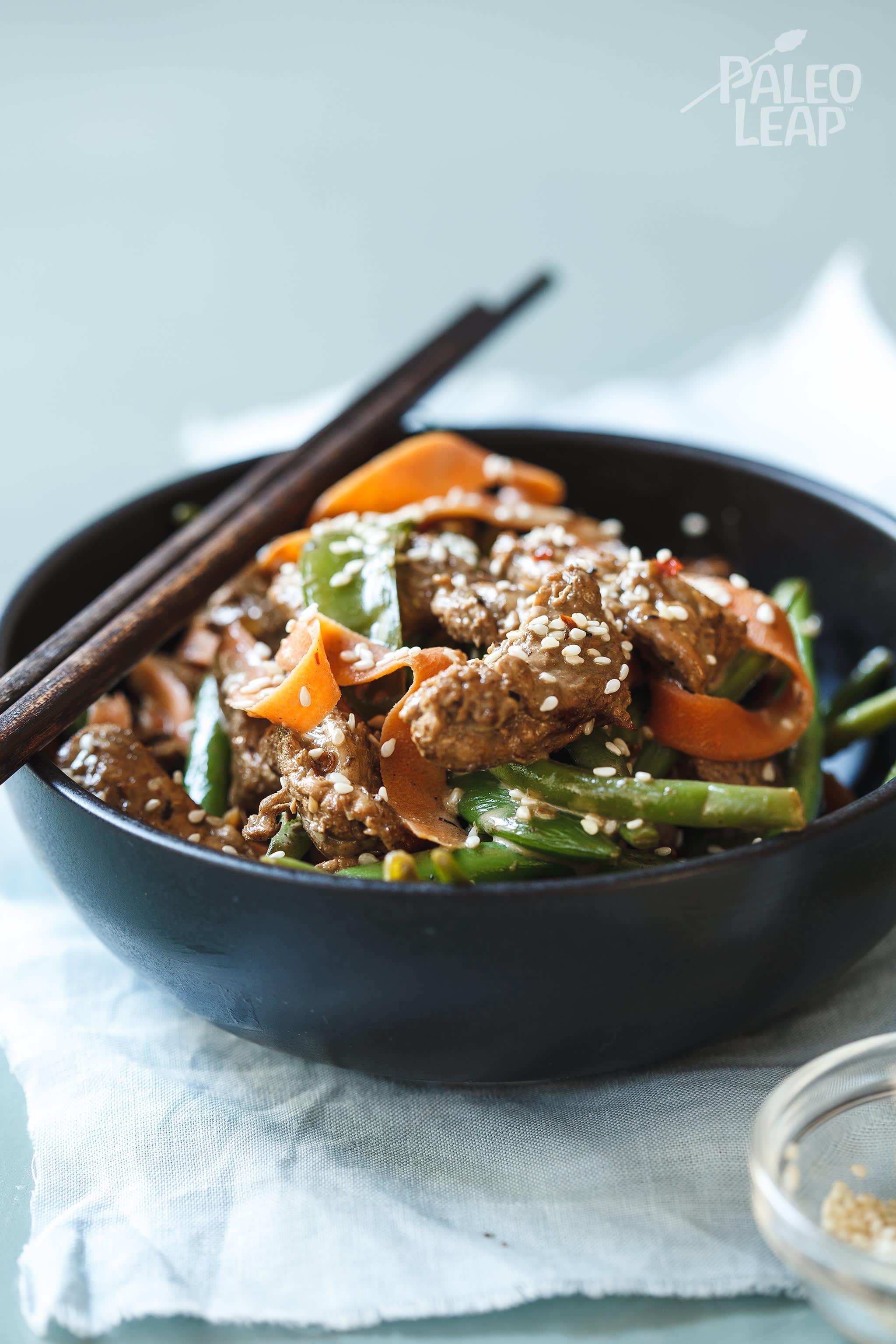 Pork And Vegetable Coconut Stir-Fry