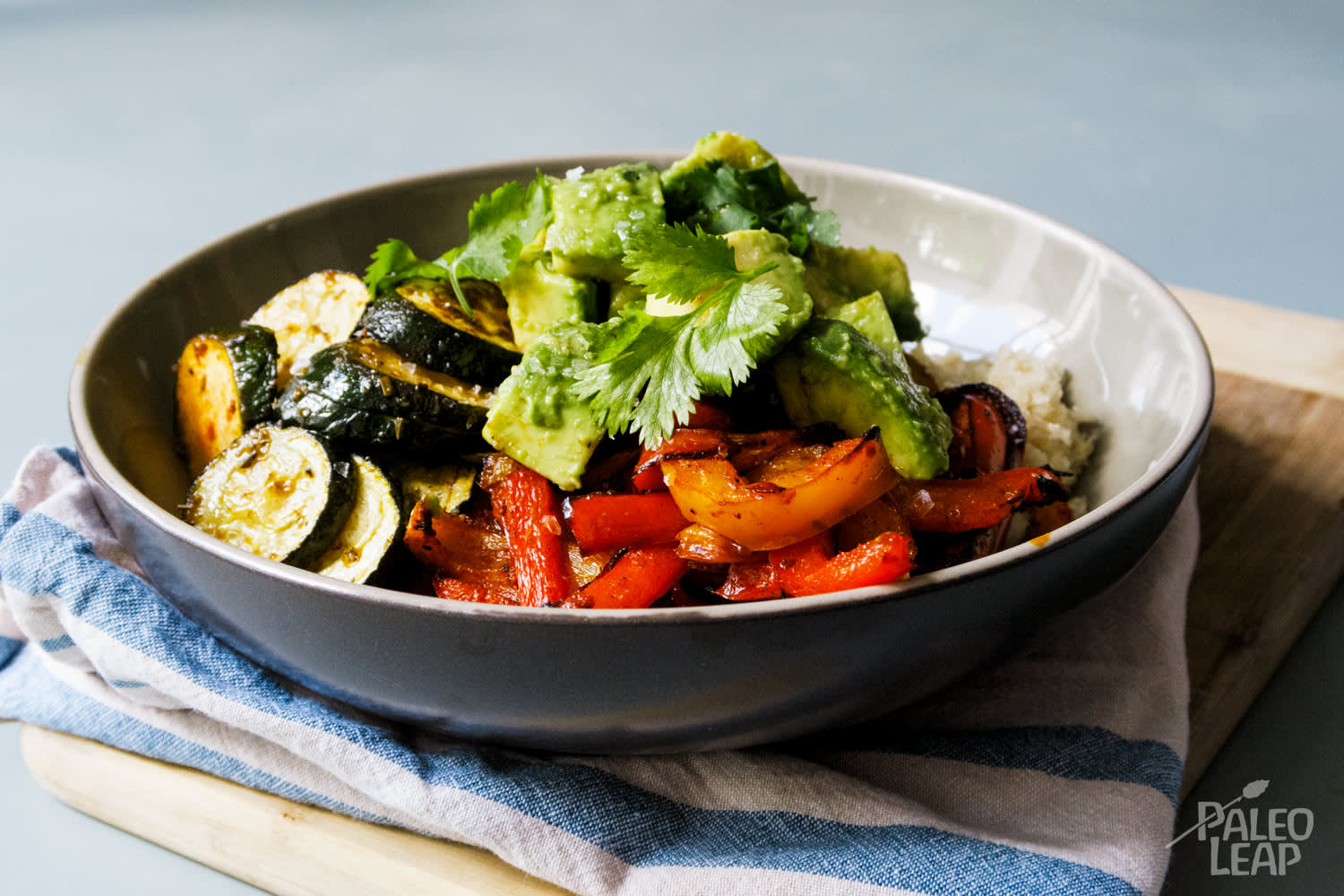 Paleo Vegetable Burrito Bowls