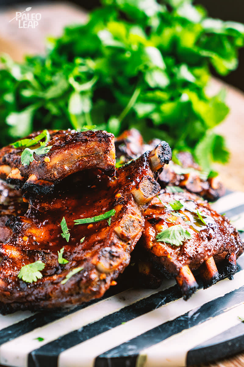 Sweet Chili And Ginger Ribs