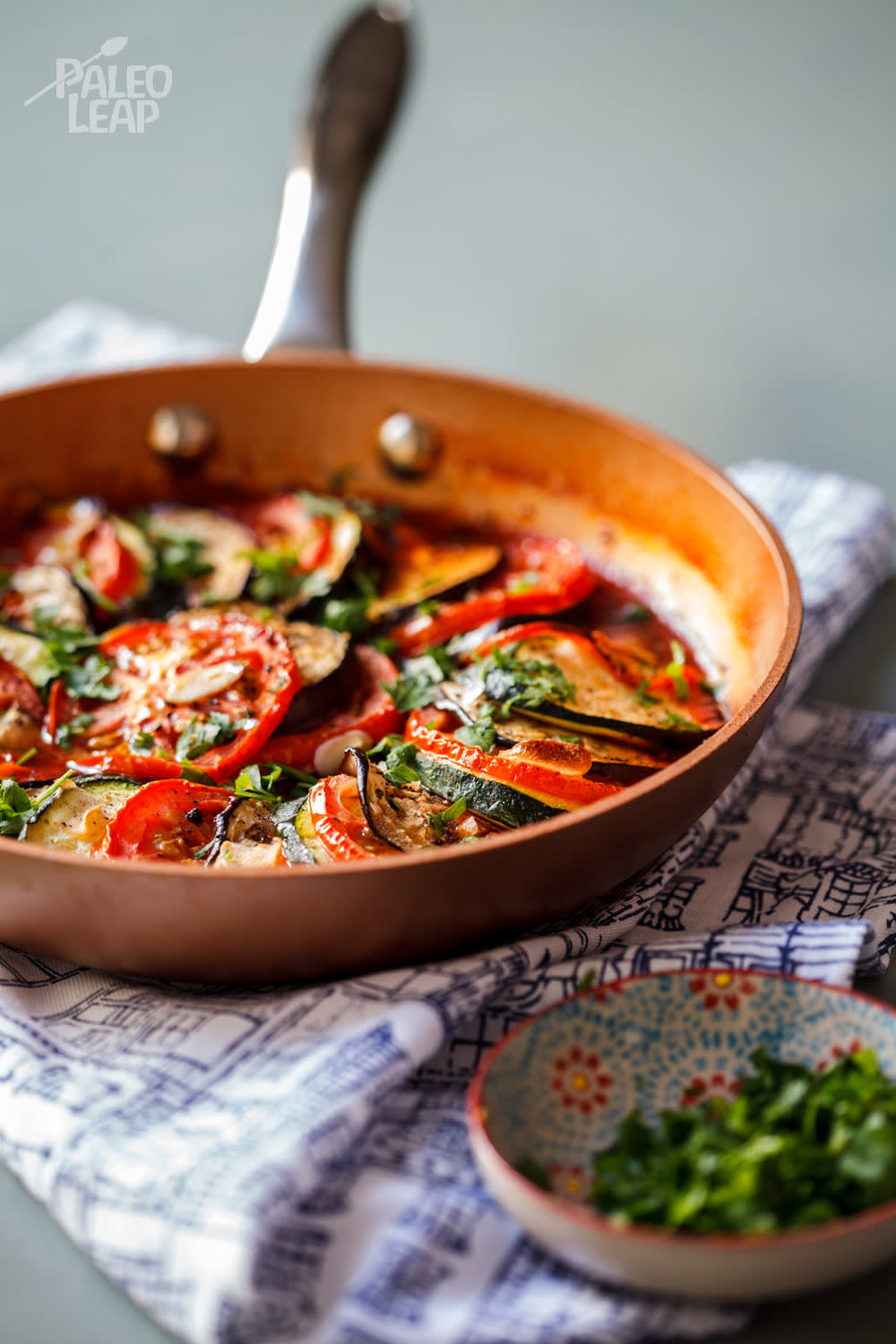 Eggplant, Zucchini And Tomato Bake