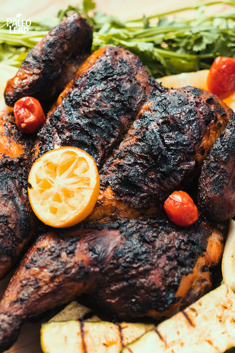 Jamaican Jerk Whole Chicken