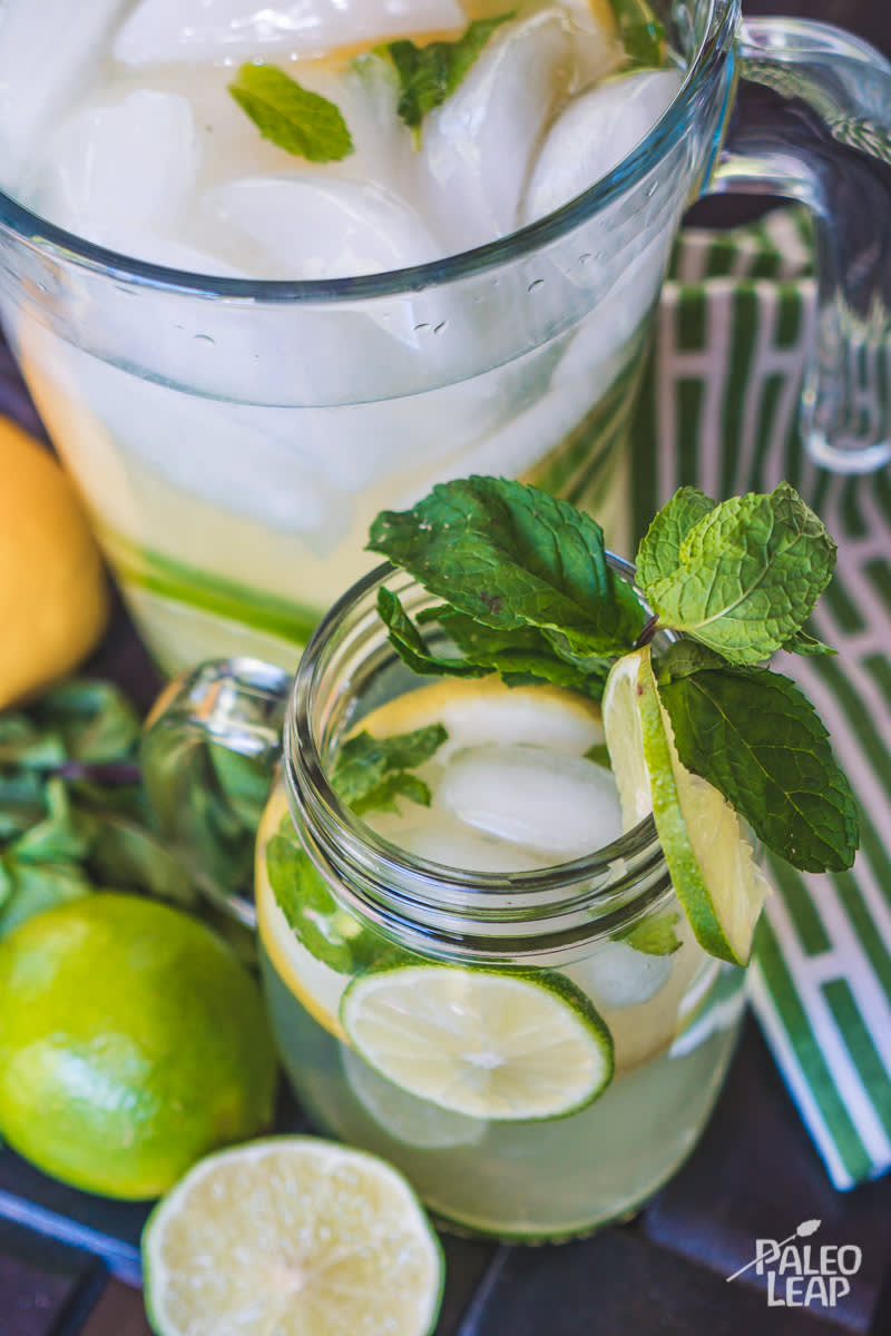 Mint And Citrus Water
