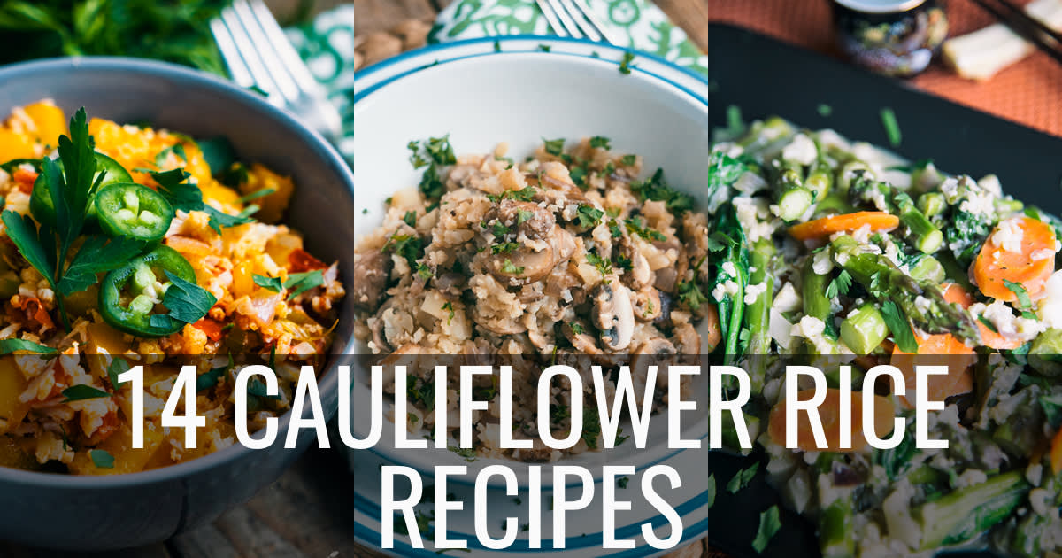 14 Paleo Cauliflower Rice Recipes
