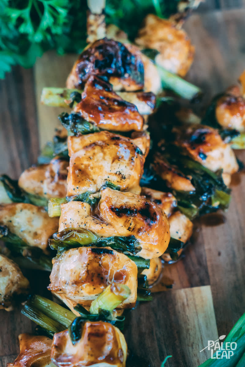 Yakitori-Style Chicken Skewers