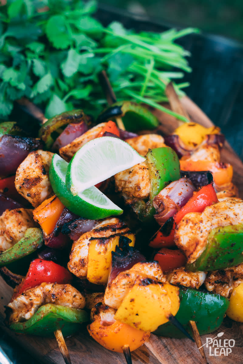Tex-Mex Chicken Kabobs