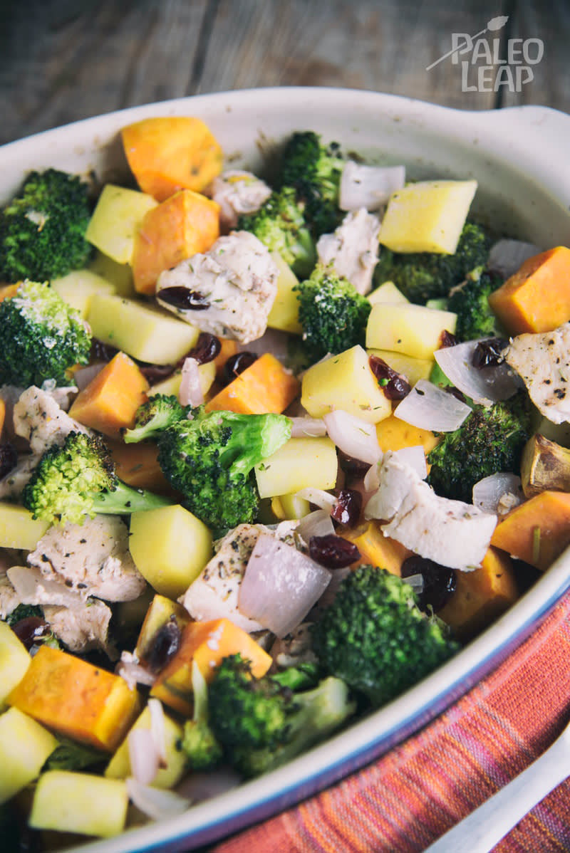 Simple Chicken With Winter Vegetables