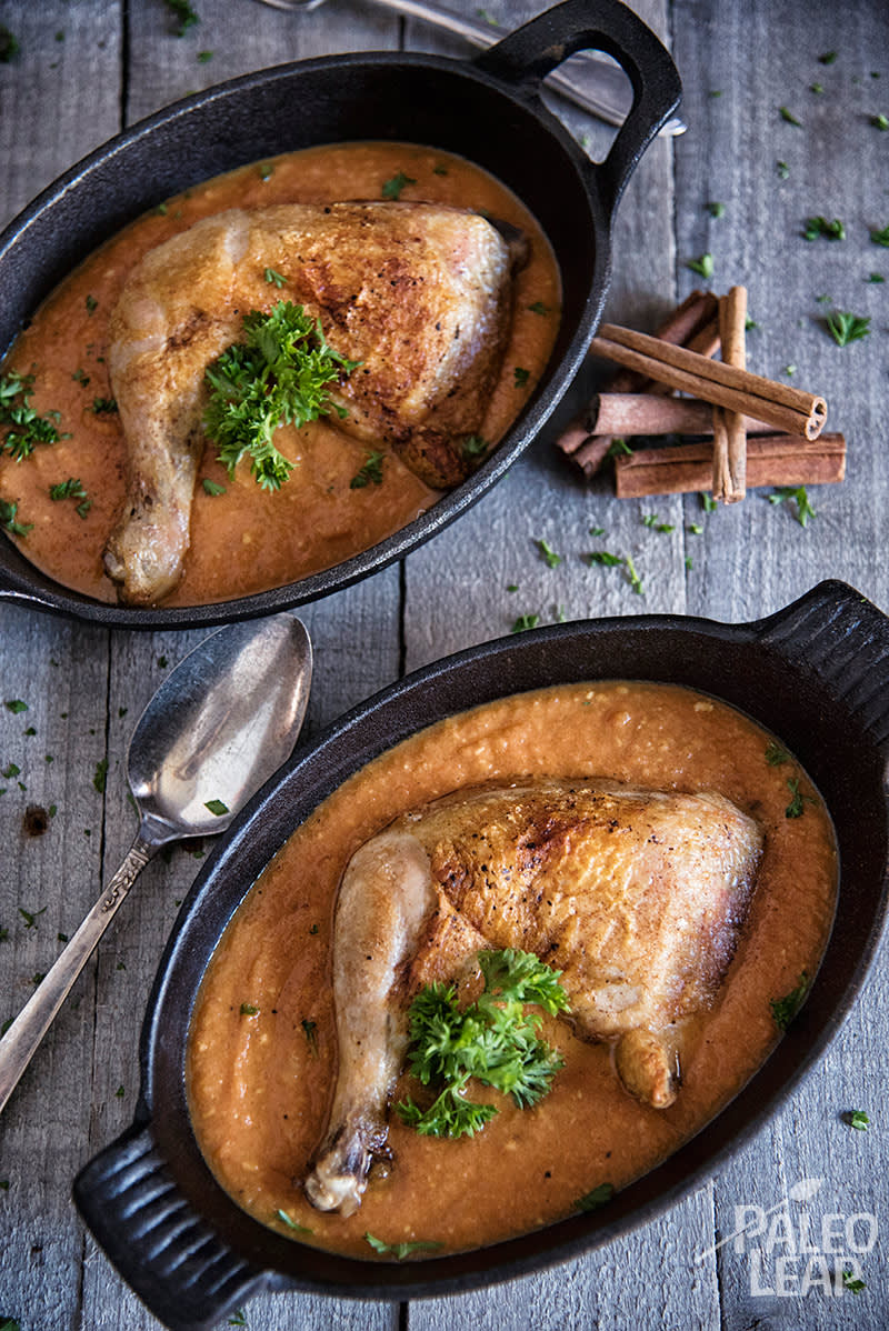 Chicken With Creamy Tomato Curry