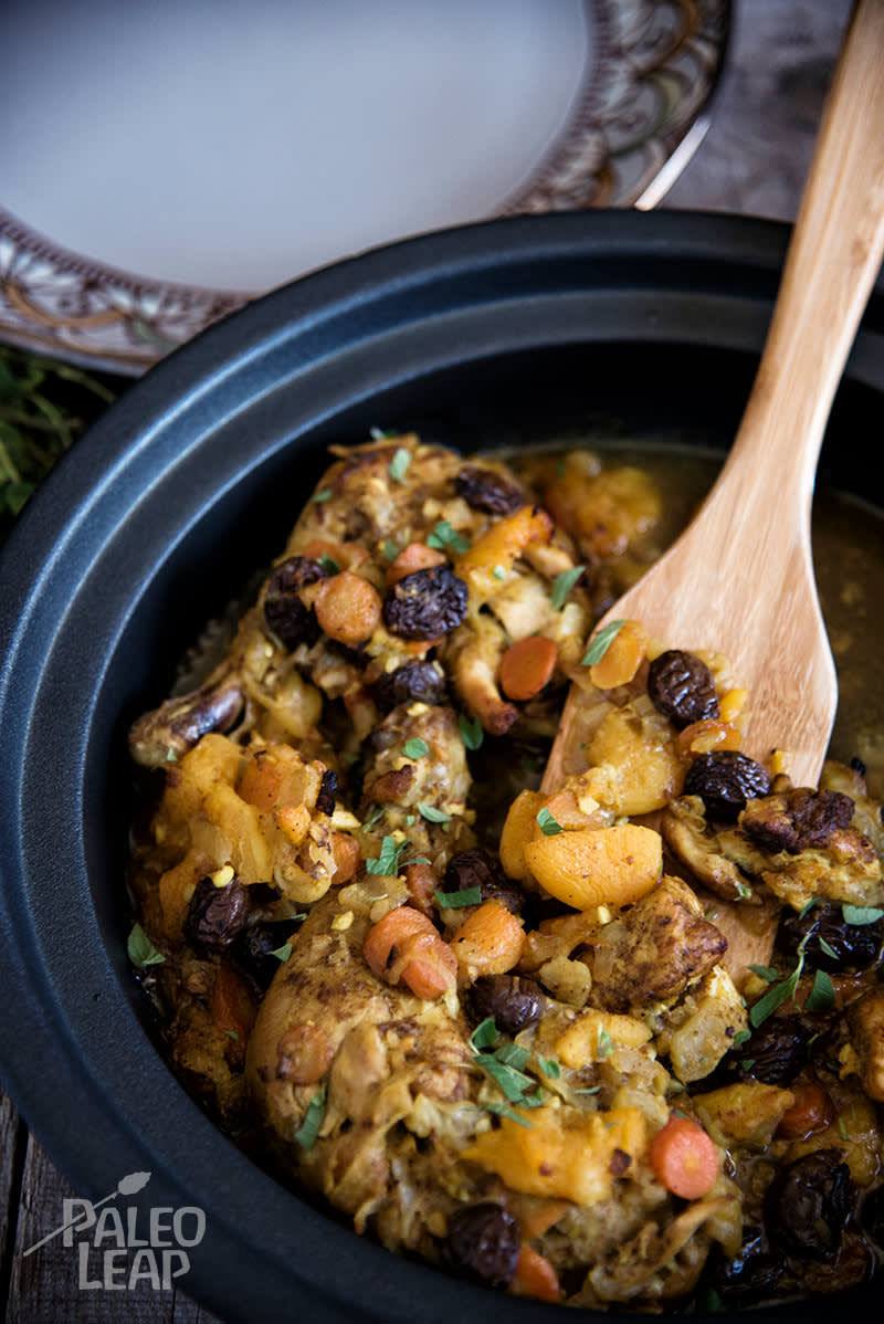 Moroccan-Style Chicken Tagine