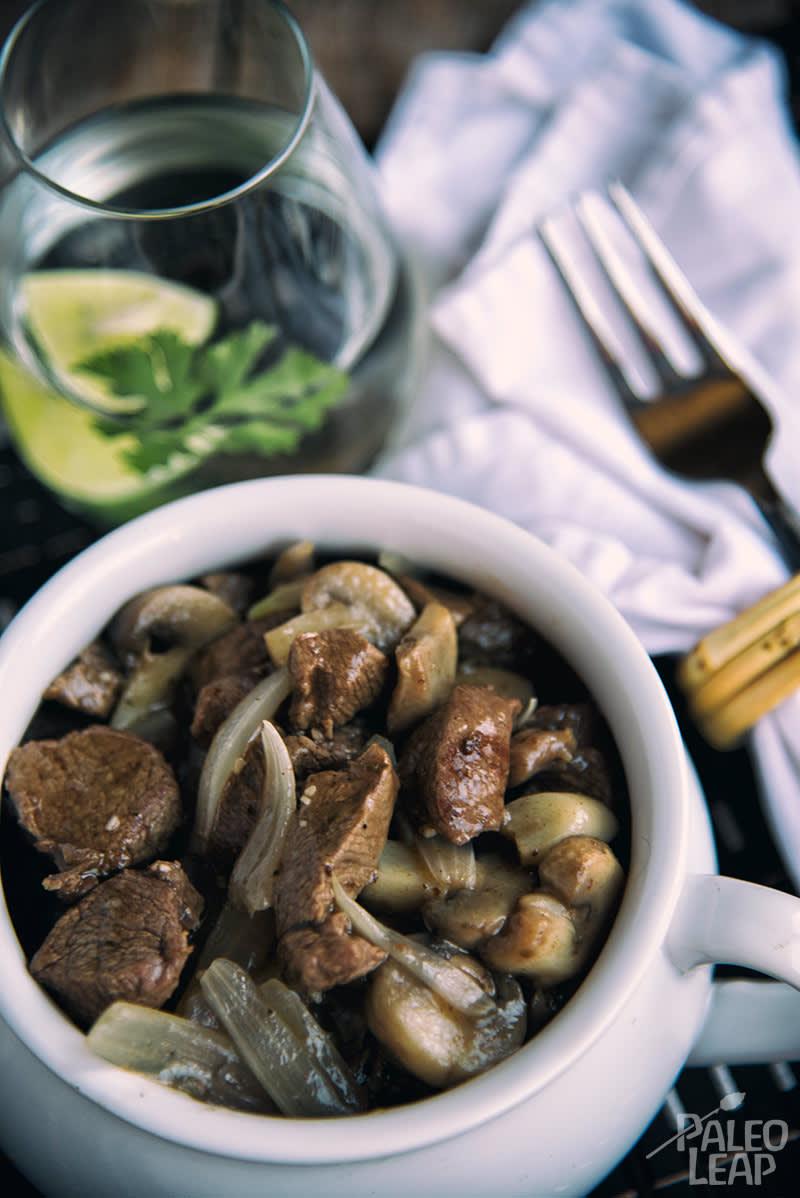 Paleo Mushroom Beef Stew