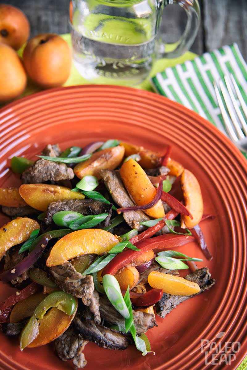 Beef And Apricot Stir-Fry