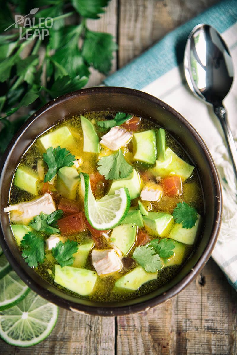 Chicken And Avocado Soup