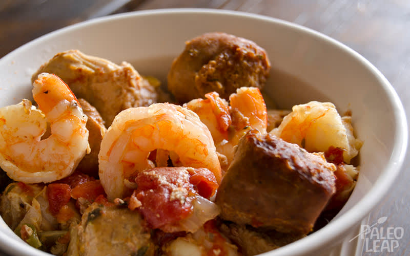 Slow Cooker Shrimp Jambalaya