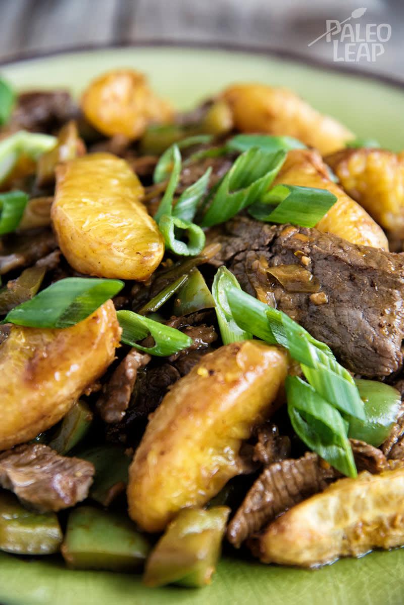 Orange And Beef Stir-Fry