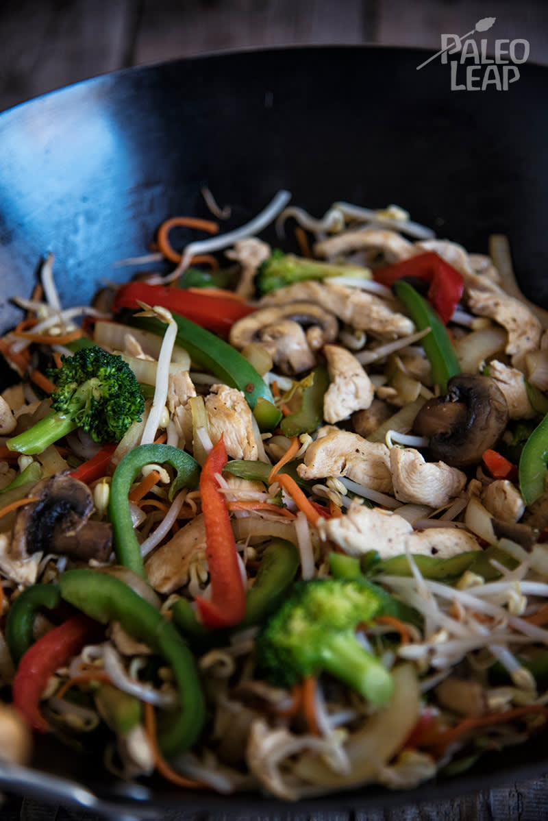 Chicken And Vegetable Stir Fry Paleo Leap