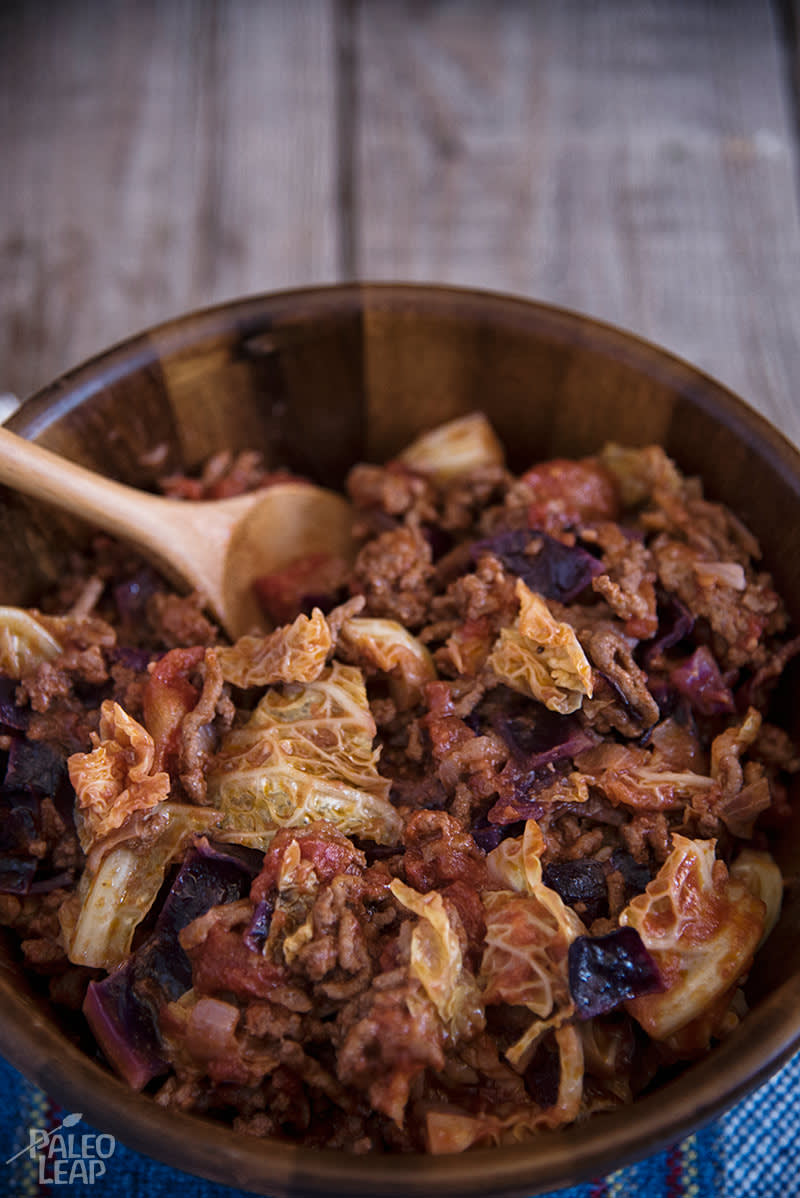 Old-Fashioned Cabbage Roll Skillet