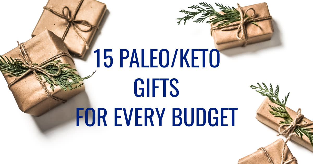 15 Paleo/Keto Gifts for Every Budget