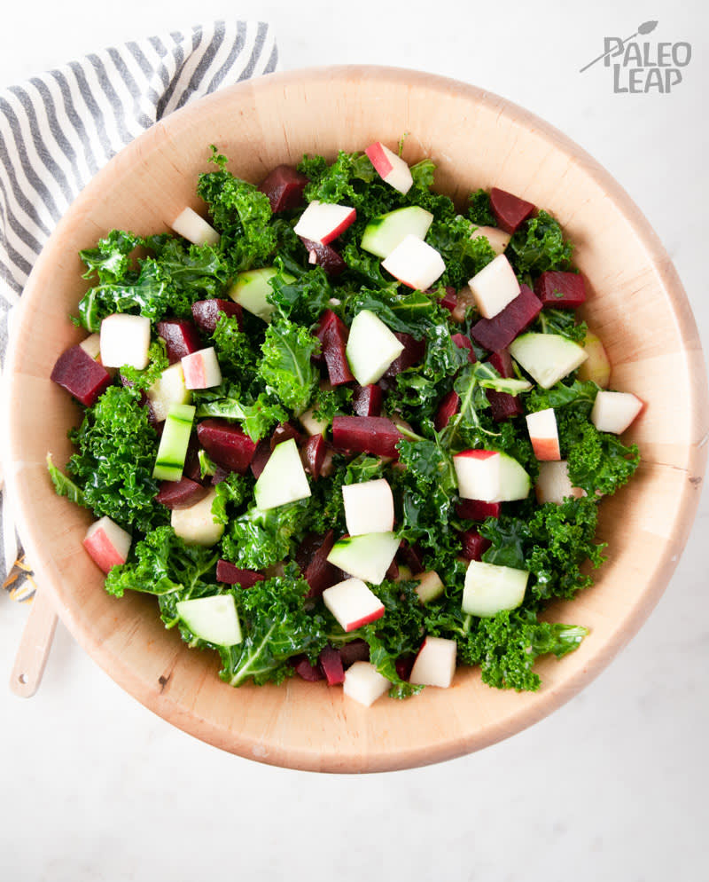 Kale, Beet And Apple Salad