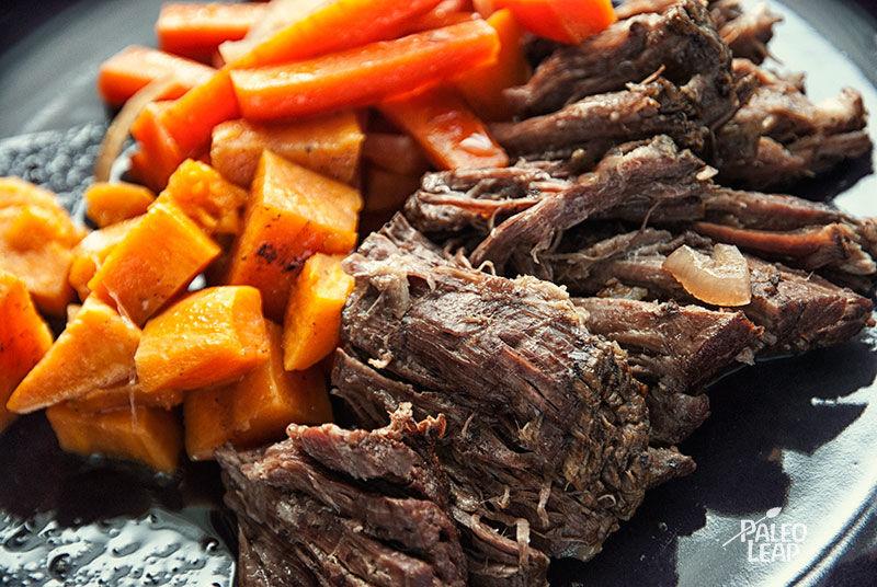 Balsamic Roast Beef Paleo Leap