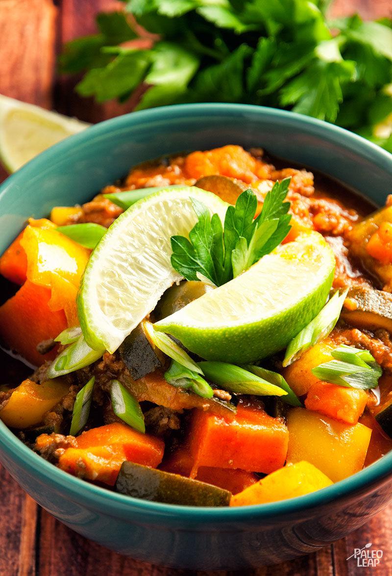 Beef Thai Chili