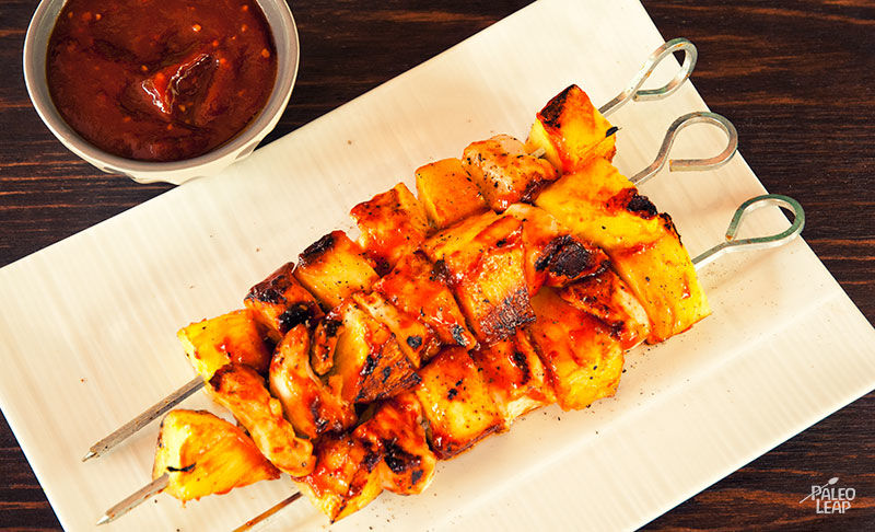 Chicken and Pineapple Skewers
