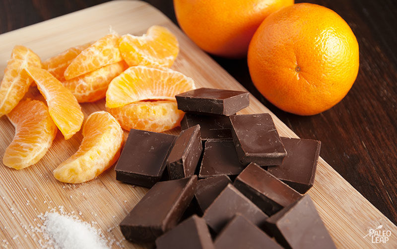 Chocolate oranges preparation