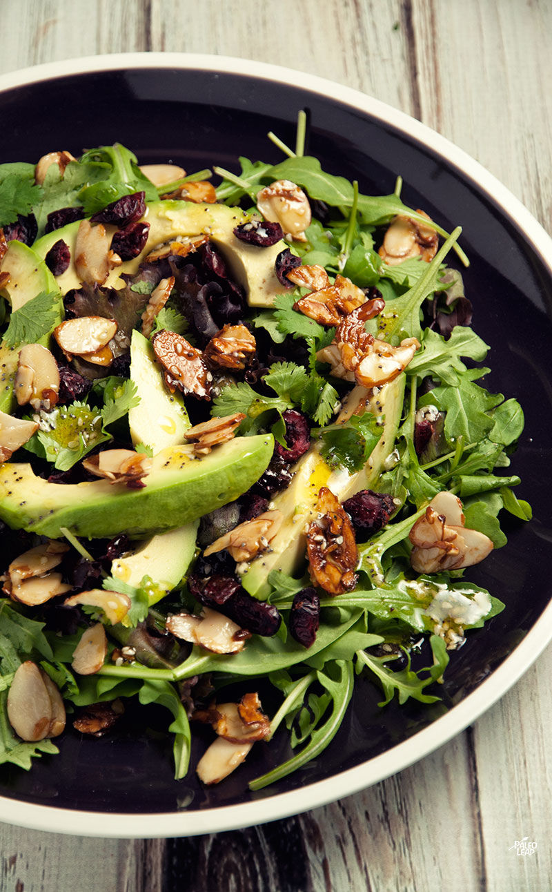 Cranberry Avocado Salad Recipe