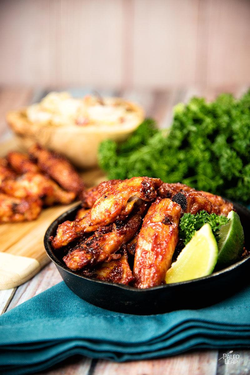 Korean-Style Chicken Wings