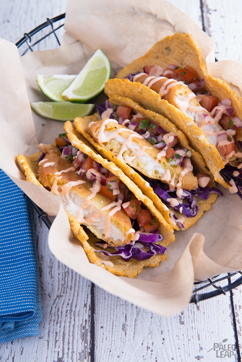 Fried fish tacos paleo leap for Making fish tacos