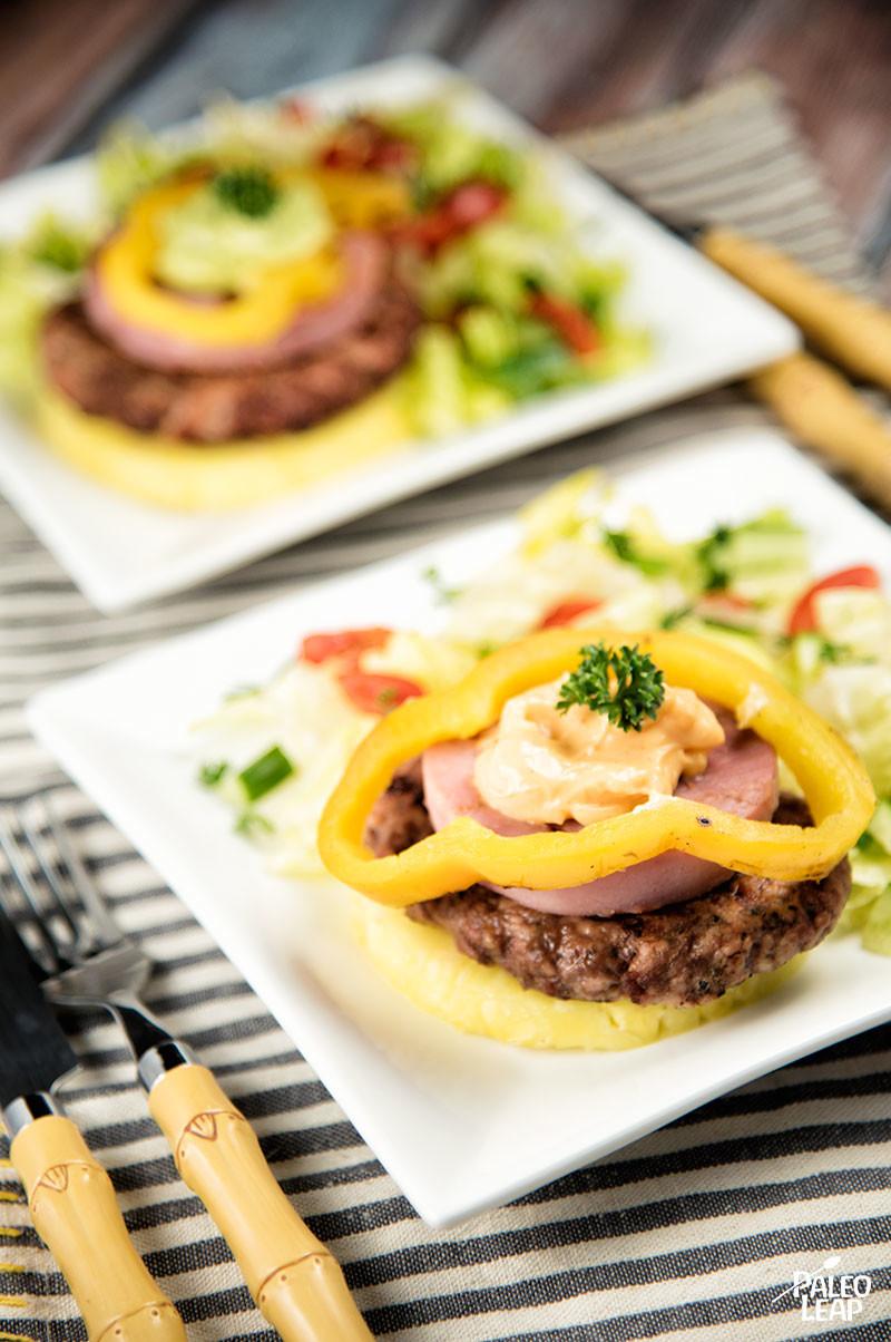 Hawaiian-Style Burgers