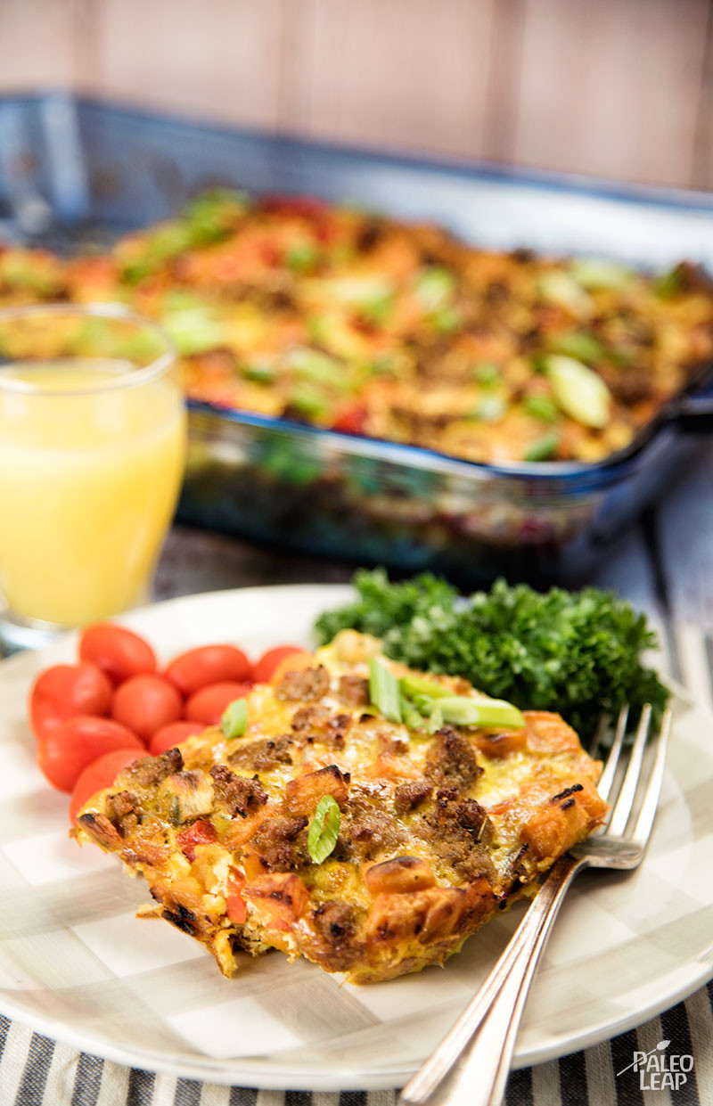 Breakfast Casserole With Sausages