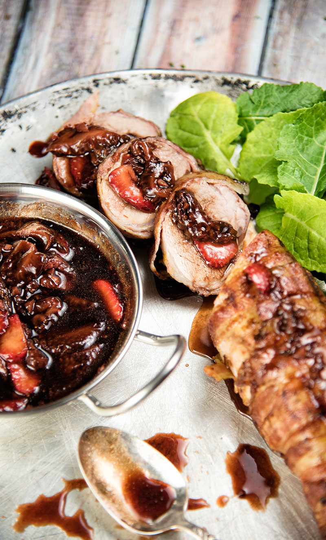 Pork Tenderloin With Strawberry Sauce