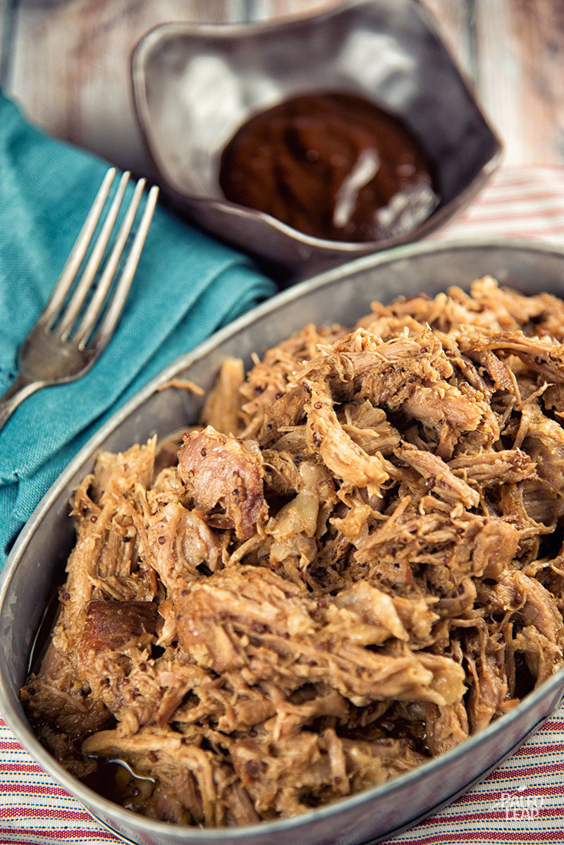Pulled Pork With Bbq Mustard Sauce Paleo Leap