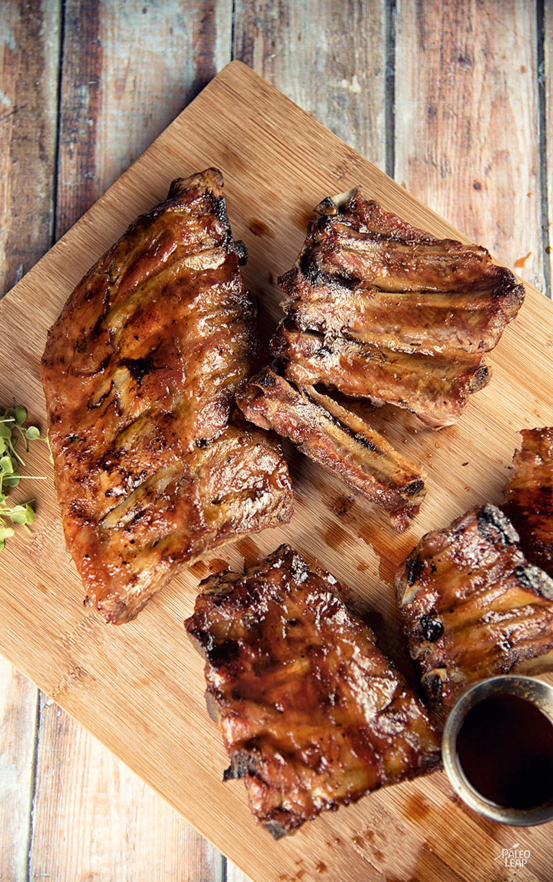 Spicy Honey-Glazed Ribs