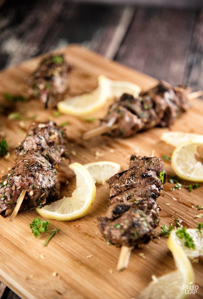 Mediterranean Beef Skewers