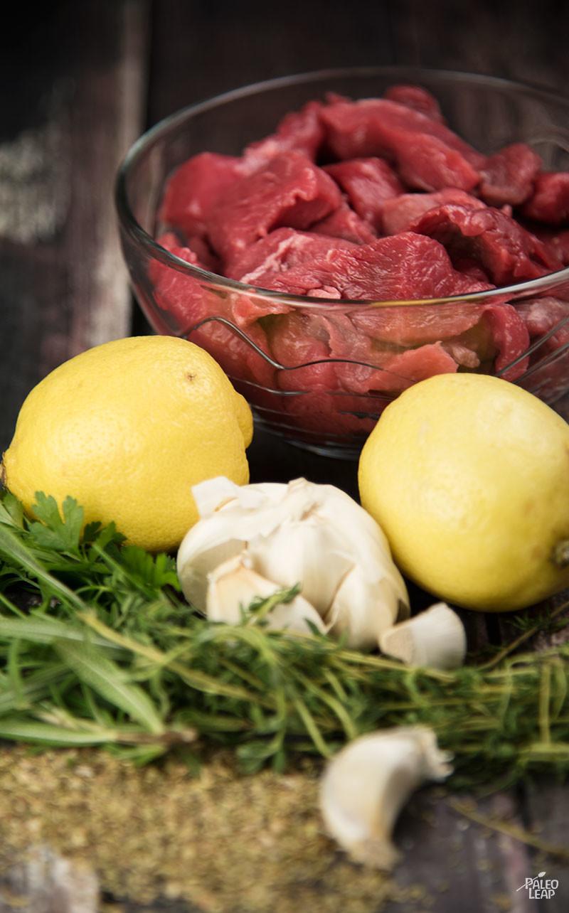 Beef Skewers preparation-1