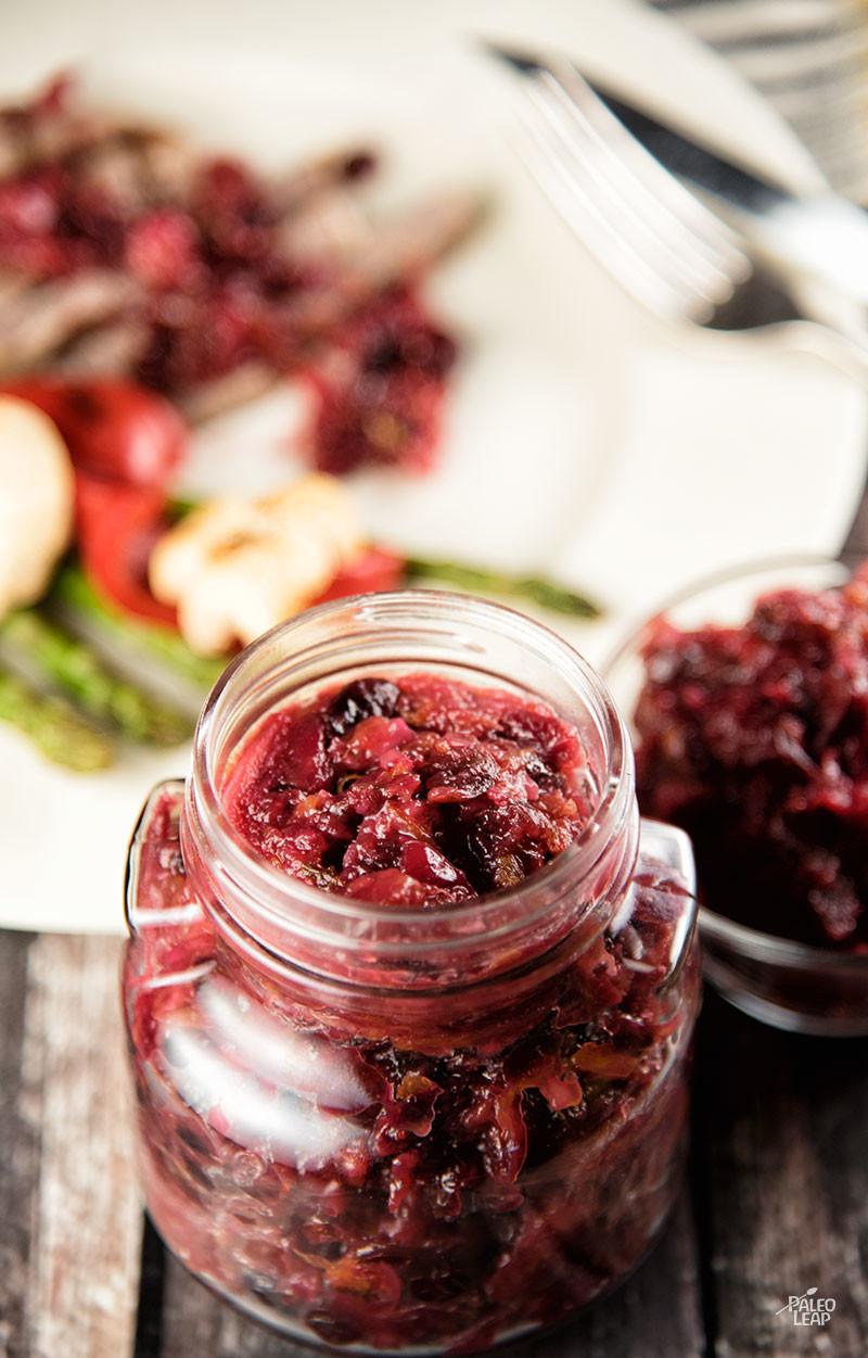 Orange And Cranberry Relish