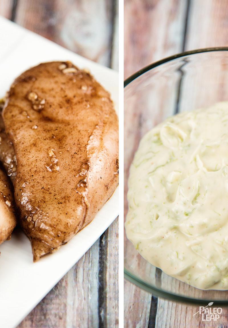 Grilled Chicken preparation